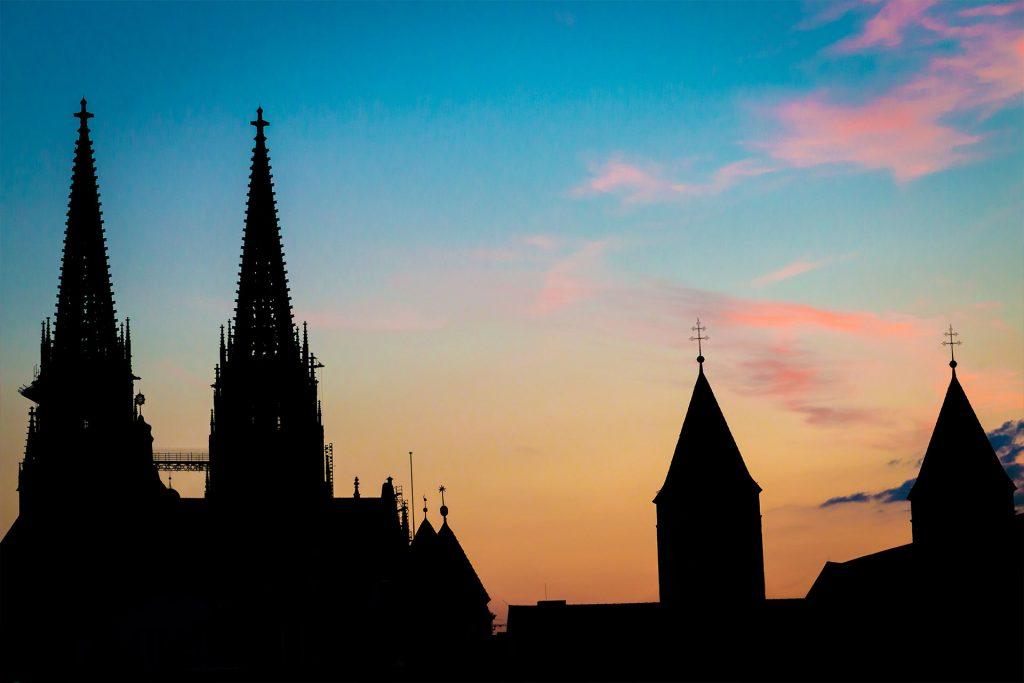 Bild von der Altstadt Regenbsurg